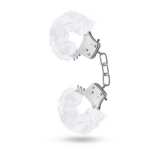 Temptasia - Plush Fur Cuffs - White