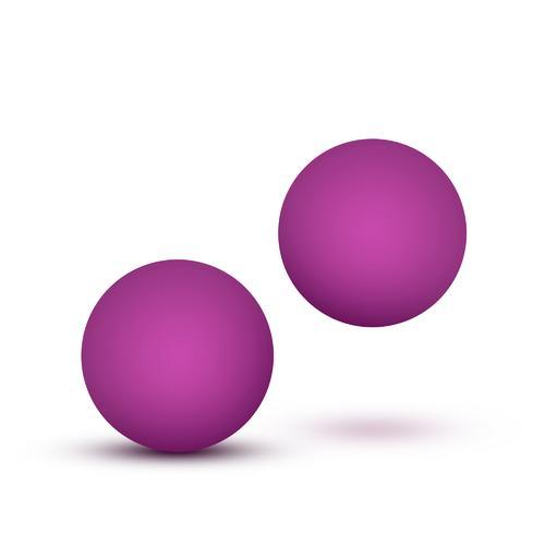 Luxe Double O Beginner Kegel Balls - Pink