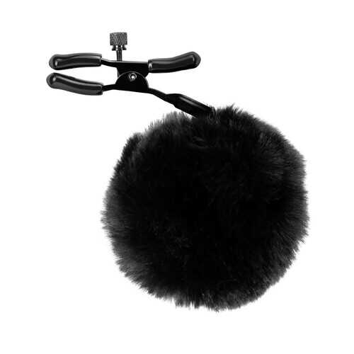 Noir - Pom Adjustable Nipple Clamps - Black