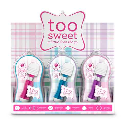 Vive - Too Sweet Pdq/pos Display of 12 Pieces  Assorted