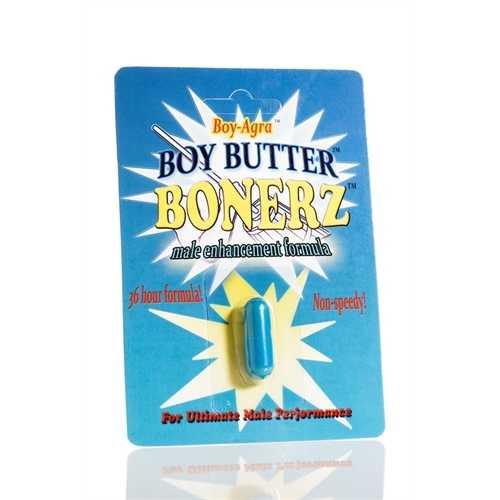 Boy-Agra Boy Butter Bonerz - Male Enhancement Formula - 1 Blister Pack