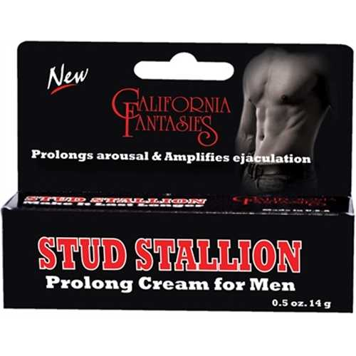 Stud Stallion - Prolong Cream for Men - 0.5 Oz. Tube - Boxed
