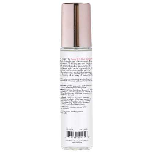 Pheromone Fragrance Mist Turn Off the Lights 3.5 Fl. Oz.