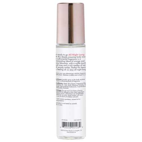 Pheromone Fragrance Mist All Night Long 3.5 Fl. Oz.