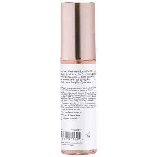 Blow Me Oral Sex Gel Berry Burst 2 Fl. Oz.
