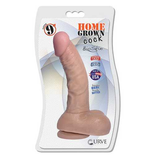 "9"" Home Grown Cock - Latte"