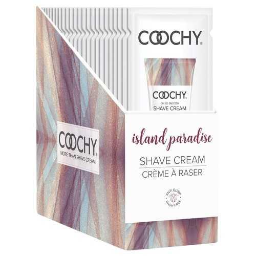 Coochy Shave Cream - Island Paradise - 15 ml Foils