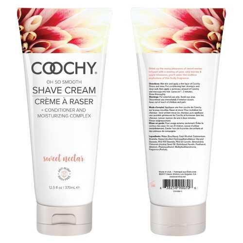 Coochy Shave Cream Sweet Nectar - 12.5 Oz