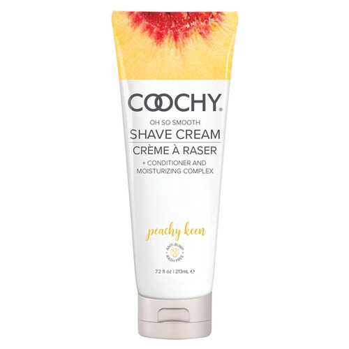 Coochy Oh So Smooth Shave Cream - Peachy Keen 7.2 Fl Oz 213ml