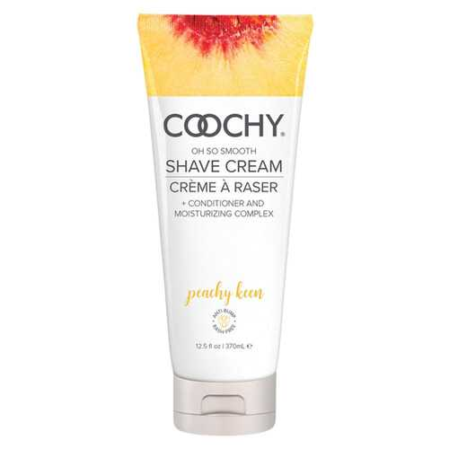 Coochy Oh So Smooth Shave Cream - Peachy Keen 12.5 Fl Oz 370ml