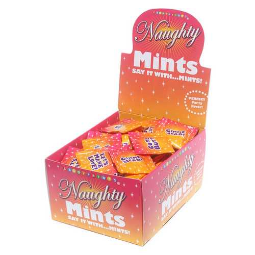 Naughty Mints Display Carton 100 3.1g Bags
