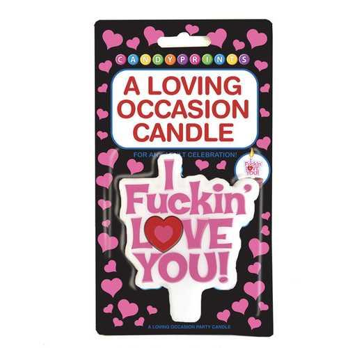I F*Ckin Love You Candle