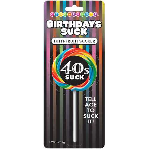 Birthdays Suck 40s Lollipop