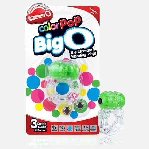 Colorpop Big O - Green - Each