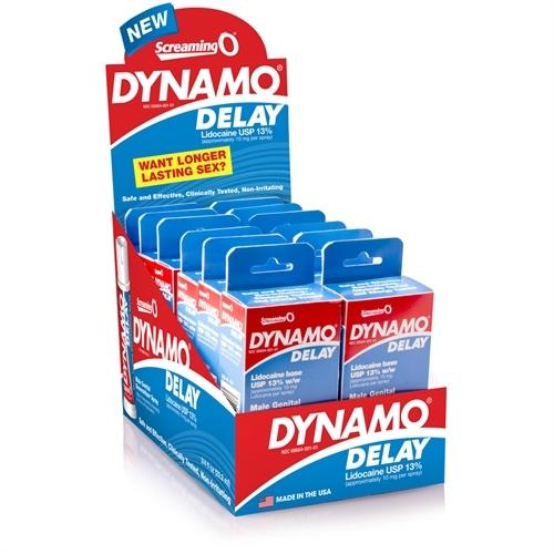 Dynamo Delay Spray - 12 Count Display