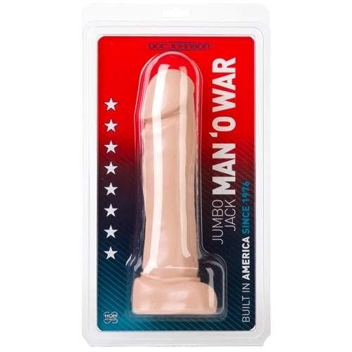 Jumbo Jack Man O War - White