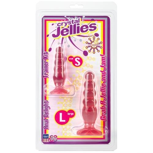 Crystal Jellies Anal Delight Trainer Kit - Pink