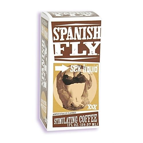 Spanish Fly Sex Drops - 1 Fl. Oz. - Stimulating Coffee