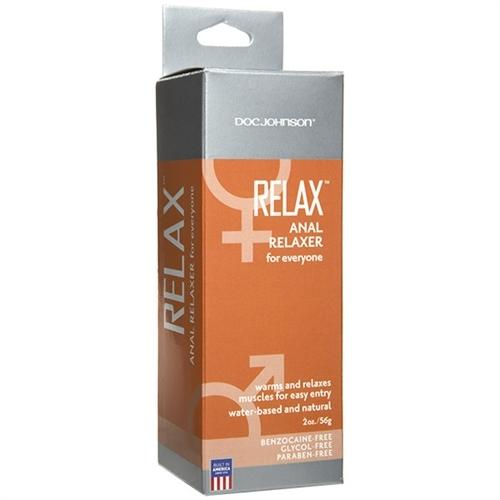Relax - Anal Relaxer for Everyone - 2 Oz. - Boxed