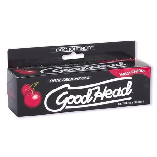 Good Head Oral Delight Gel 4 Oz - Wild Cherry