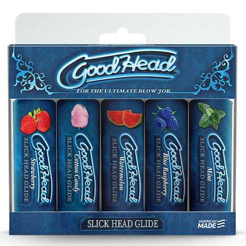 Goodhead - Slick Head  Glide - 5 Pack - 1 Fl. Oz.