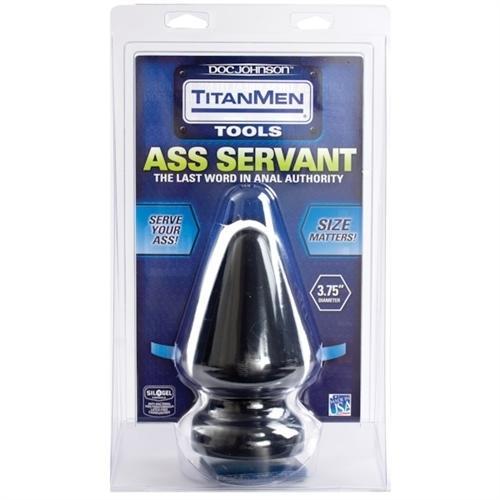 Titanmen Butt Plug 3.75 Inch Diameter Ass Servant