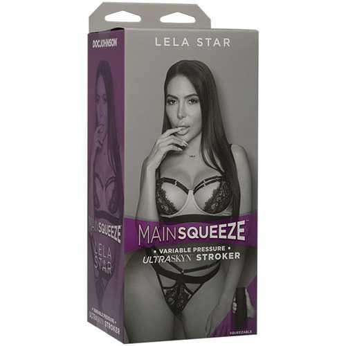 Main Squeeze- Lela Star - Ultraskyn Stroker -  Pussy