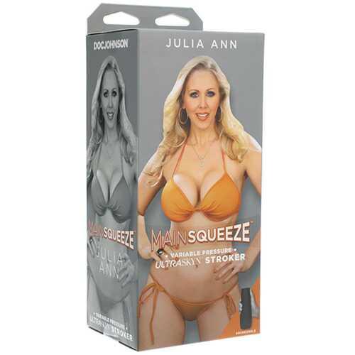 Main Squeeze - Julia Ann - Ultraskyn Stroker -  Pussy