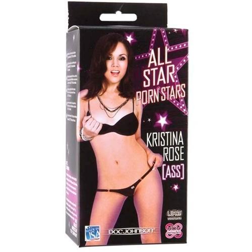 All Star Porn Stars Kristina Rose Ass - White