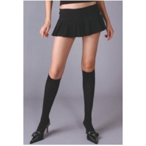 Opaque Knee Hi - Black
