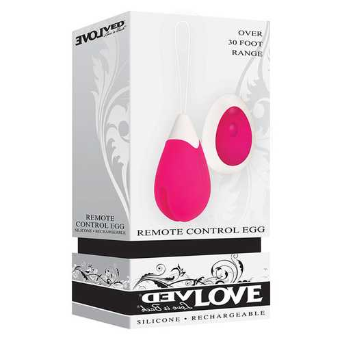Remote Control Egg - Pink