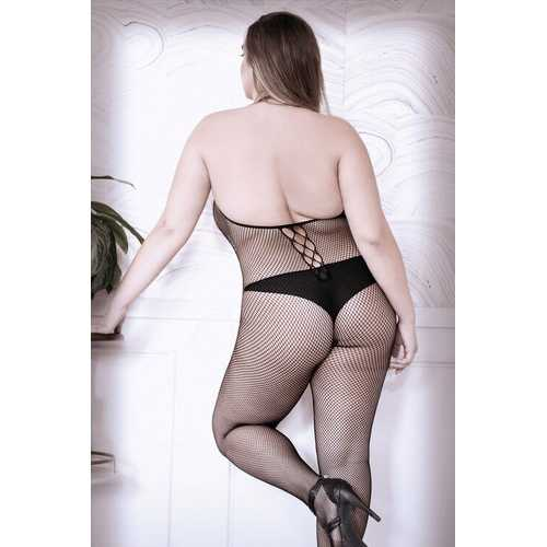 Adore You Fishnet Bodystocking - Queen Size
