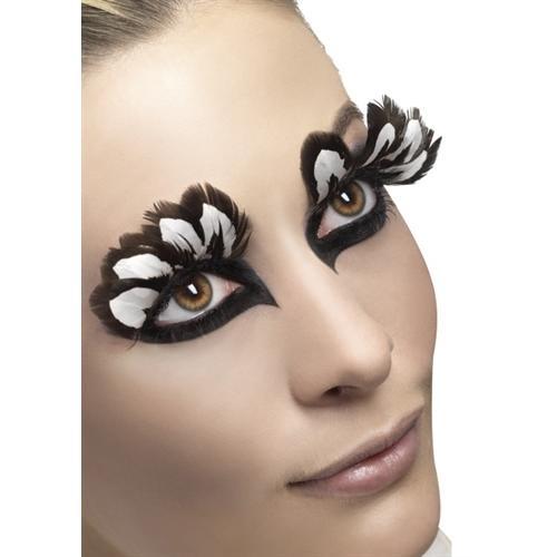 Feather Eyelashes - Brown