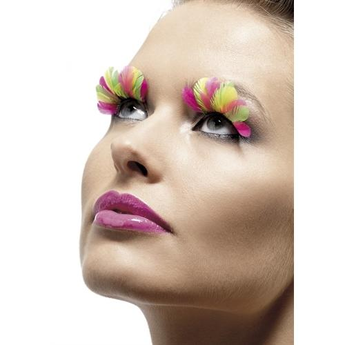 Multi- Colored Eyelashes