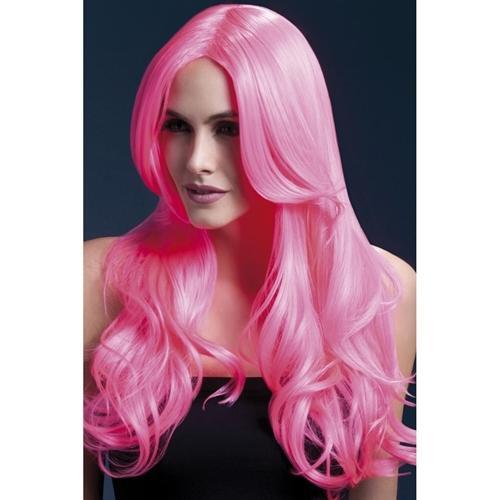 Khloe Wig - Neon Pink