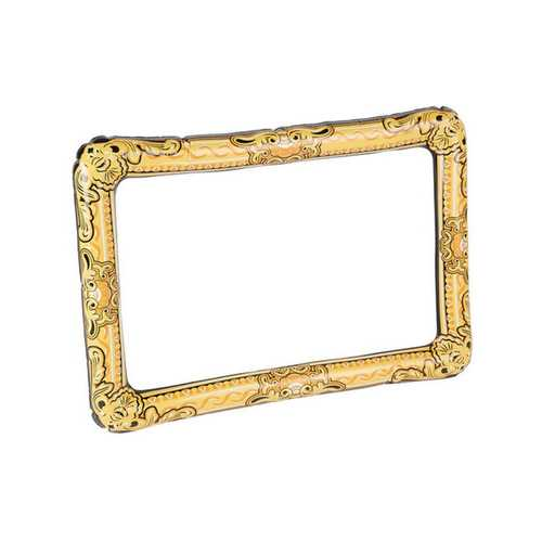 Inflatable Picture Frame - Gold