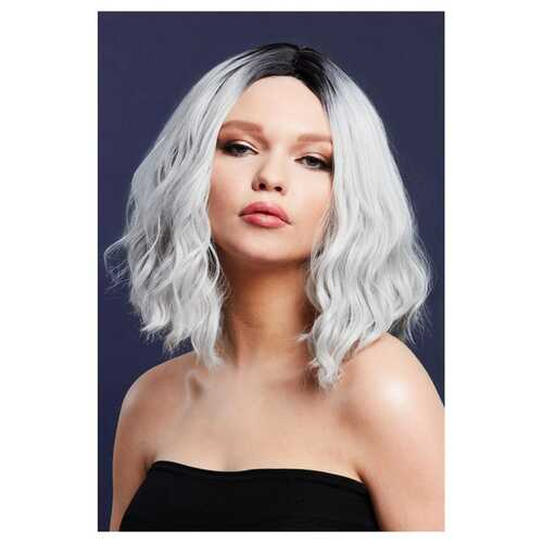 Fever Cara Wig - Two Toned Blend - Ice Silver