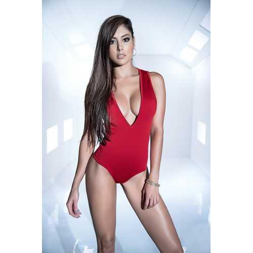 Bodysuit - X-Large - Red