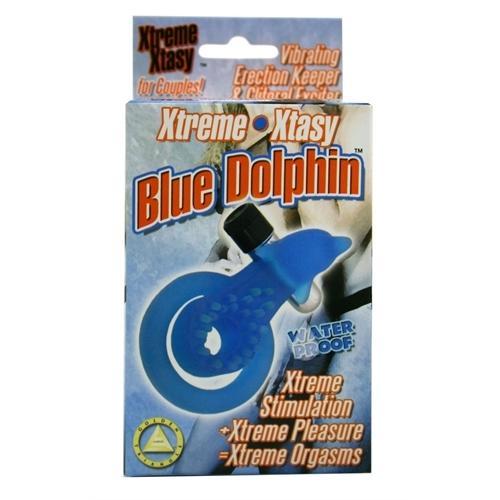 Xtreme Xtasy Ring Dolphin C-Ring - Blue