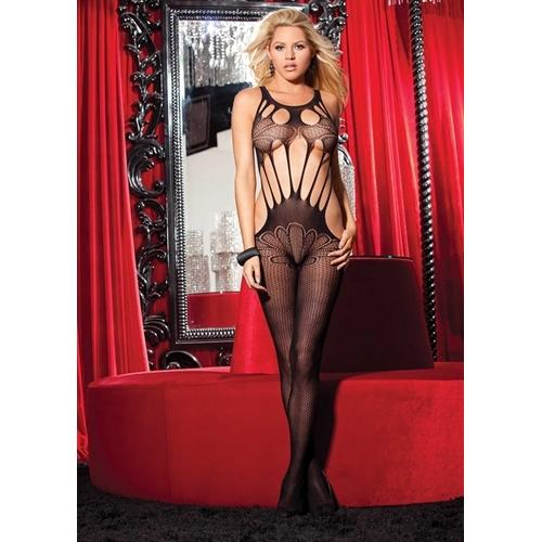 Butterfly Body Suit - One Size - Black