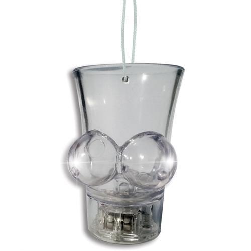 Light Boobie Shot Glass