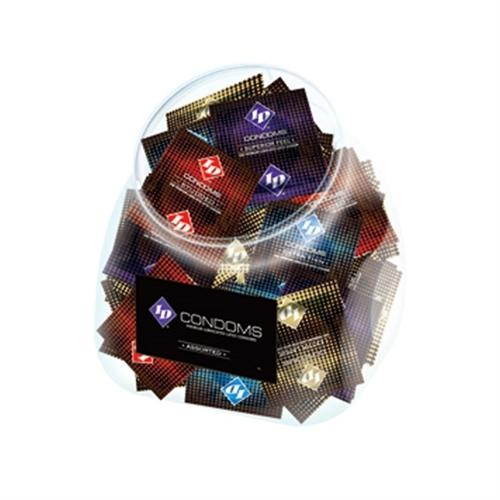 ID Condoms - Assorted - 144 Piece Jar