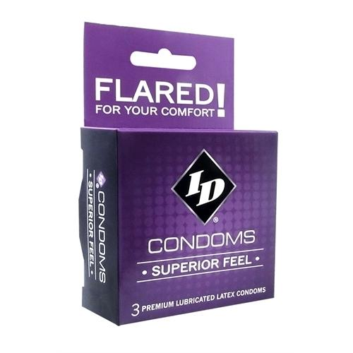 ID Superior Feel Condoms - 3 Pack