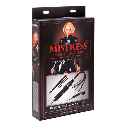 Deluxe Silicone E-Stim Wand Kit