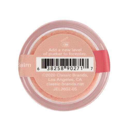 Nipple Nibbler Sour Pleasure Balm Peach Pizazz - 3g Jar