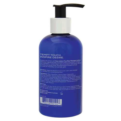 Pure Instinct Pheromone Massage Lotion True Blue 236 ml | 8 Fl Oz