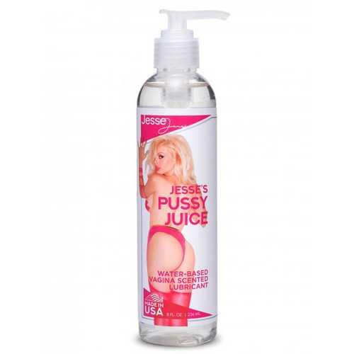Jesse's Pussy Juice Vagina Scented Lube- 8 Oz