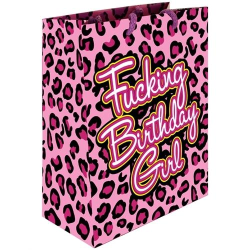 Fucking Birthday Girl - Gift Bag