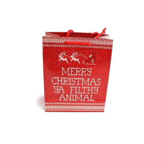 Merry Christmas Ya Filthy Animal - Gift Bag