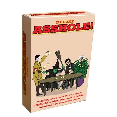 Deluxe Asshole! - Card Game